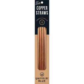 United By Blue Moon Copper Straw Set copper
